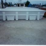 Tina rectangular 5.15x2.63x1.00 mts. Capacidad 14 Ton.